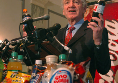 Sen. Tom Harkin at a press conference on junk food in 2006.