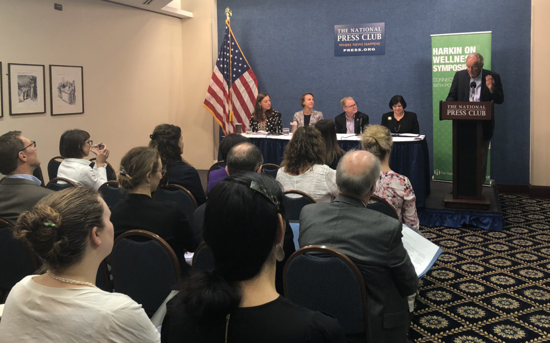 Harkin Institute shares results of inaugural community wellness report