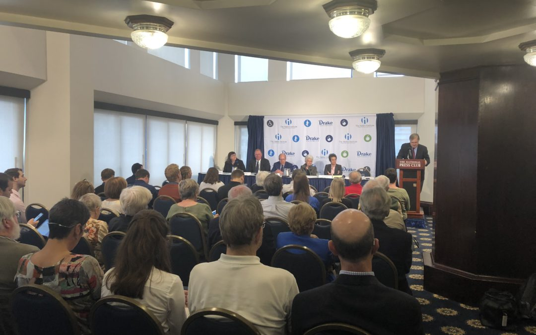 Harkin Institute hosts panel discussion on Iowa redistricting