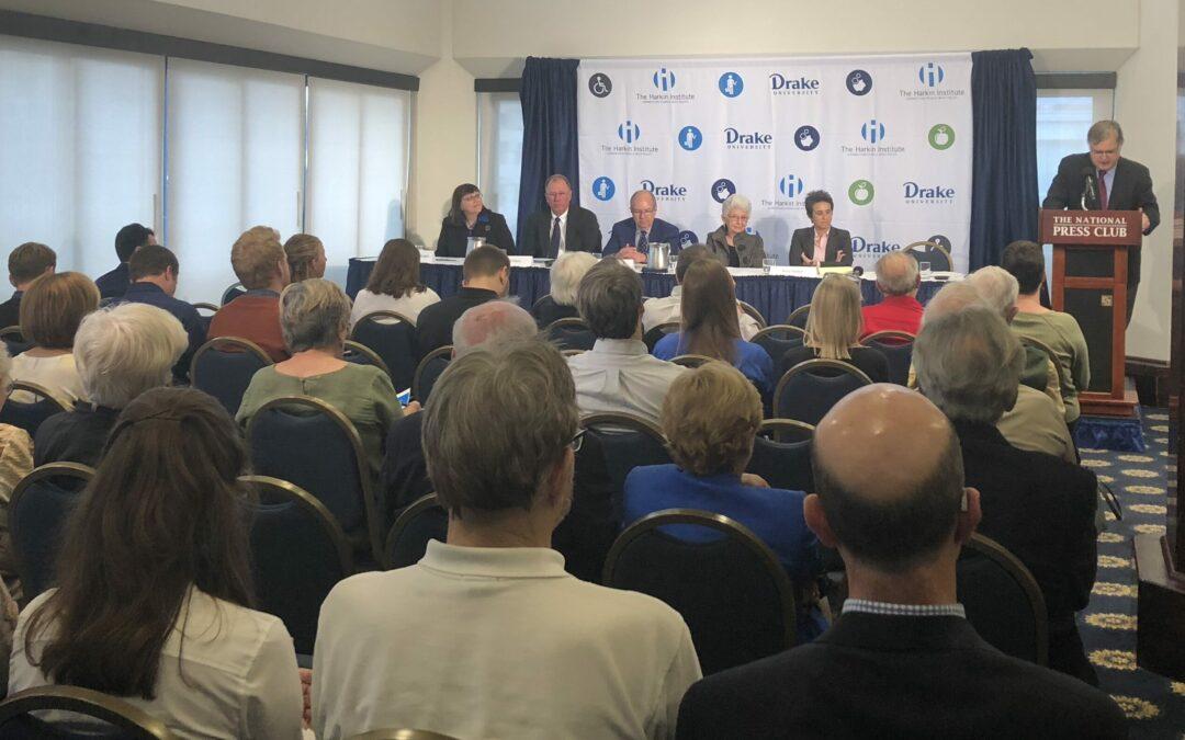 Harkin Institute hosts panel discussion on Iowa redistricting
