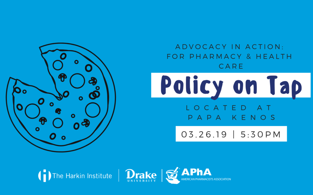 March 26 | Policy on Tap