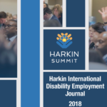 Harkin International Disability Employment Journal 2018 Cover