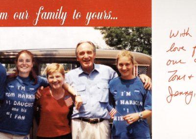 2002 Harkin Holiday Card
