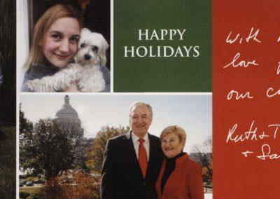 2011 Harkin Holiday Card