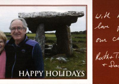 2016 Harkin Holiday Card