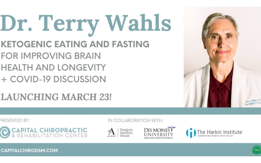 NOW-March 30 | Dr. Terri Wahls on-demand in Des Moines