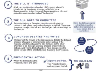 How a Bill Becomes a Federal Law